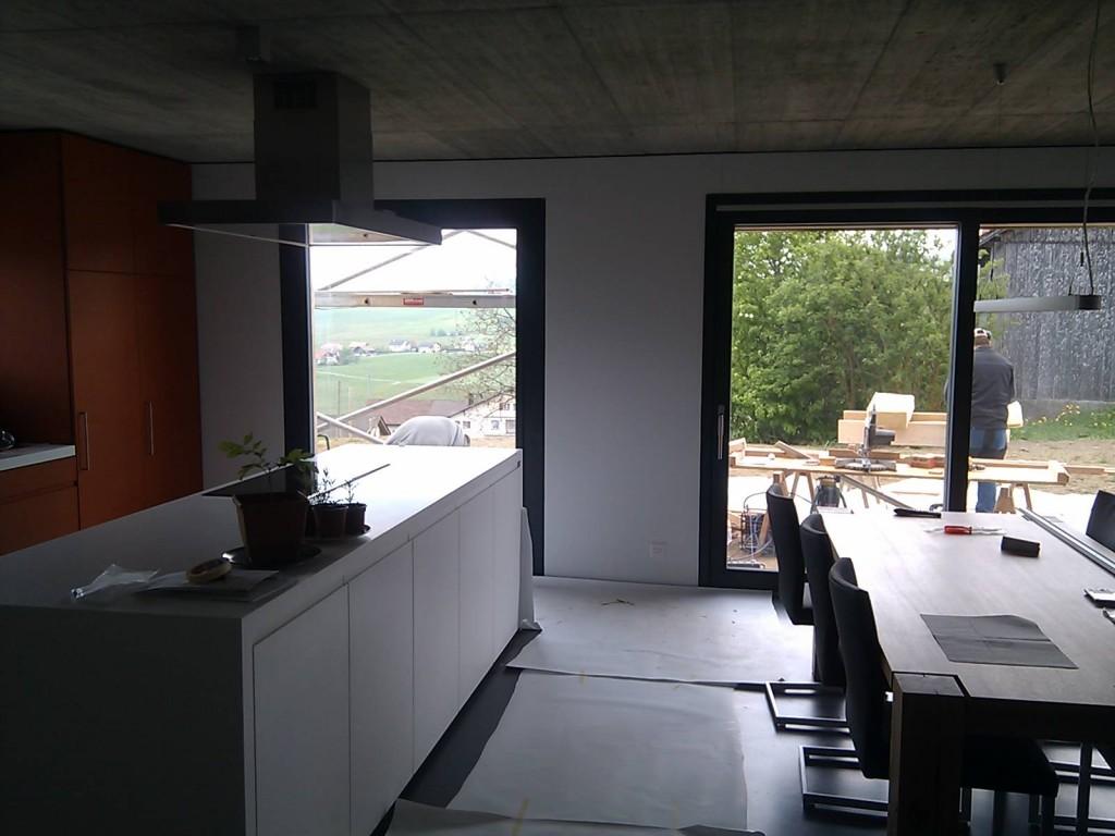 Nouvelle fenêtre à la cuisine
